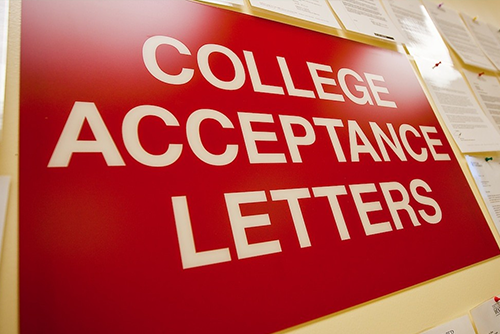 getting into the college you want