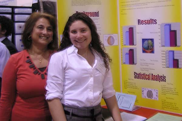 a STEM student & STEM advisor