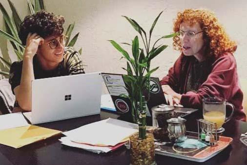 graduate school advisor & client