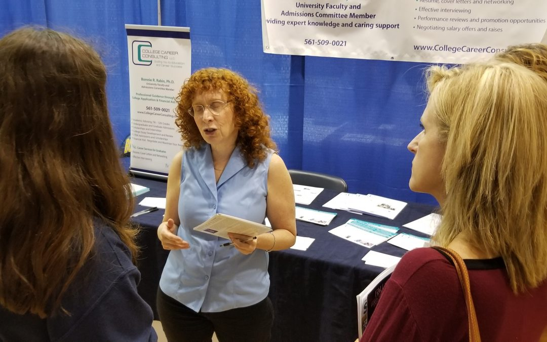 College Fairs - Tips from College Advisor Bonnie Rabin, PhD