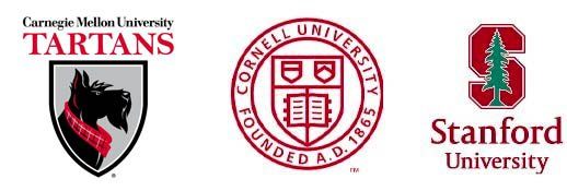 college icons - a few placement schools for Bonnie R. Rabin, college advisor